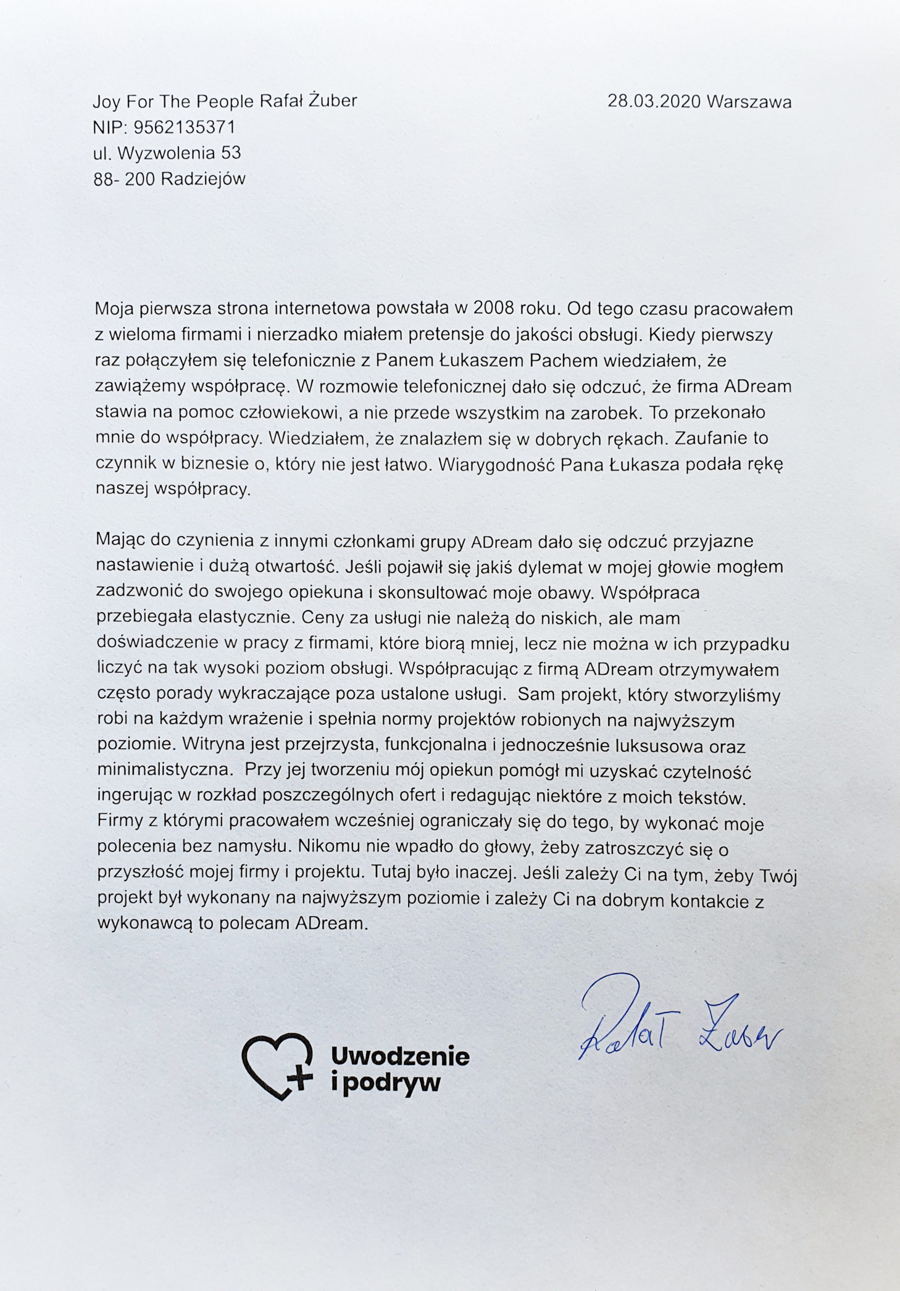 Uwodzenie i podryw Rafał Żuber
