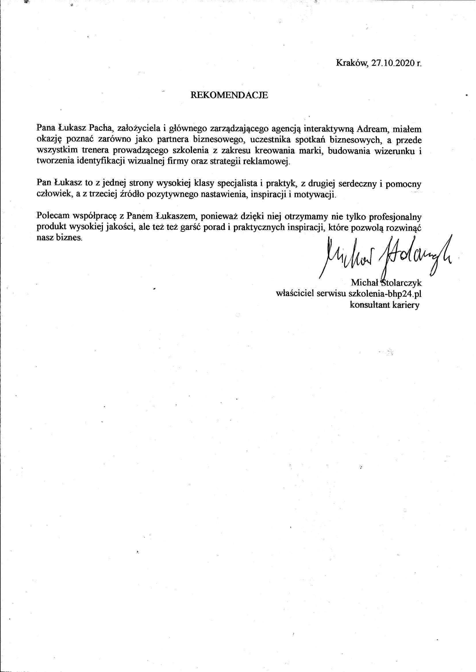 Usługi edukacyjno-psychologiczne Michał Stolarczyk